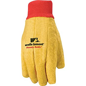 Wells Lamont Polyester and Cotton Chore Gloves, Standard Weight, Large, 12-pack (412)