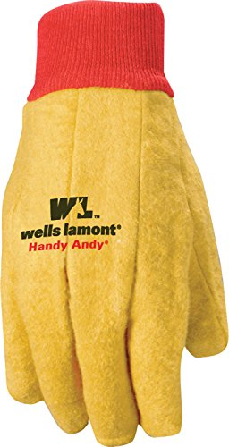 Wells Lamont Polyester and Cotton Chore Gloves, Standard Weight, Extra Large, 12-pack (Chore Gloves)