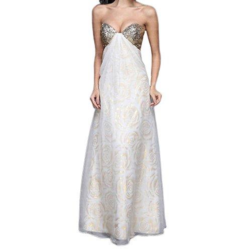 Design Für Maxi Ball Pailletten Damen Festamo Ital Gold Kleid bei 8IvFq