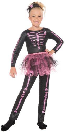 Forum Novelties Skeletina Child Costume, Large