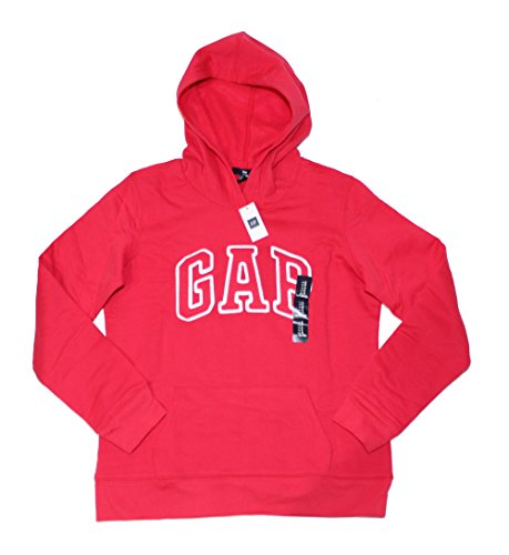 gap-womens-fleece-arch-logo-pullover-hoodie-xs-rose-pink