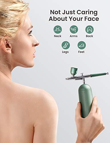 Cordless Makeup Airbrush, Luxury Facial Oxygen Machine, Portable Serum Toner Nano Mist Sprayer Facial Mister Device…