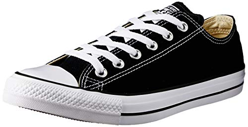 separation shoes 582ce d8107 Converse Unisex Chuck Taylor All Star Low Top Black Sneakers - 9.5 B(M)