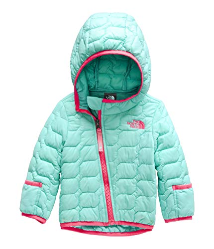 The North Face Kids Unisex Thermoball¿ Hoodie (Infant) Mint Blue 18-24 Months - Infant Big Face