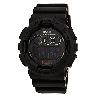 G-Shock GD-120 Military Black Sports Stylish Watch - Black / One Size by G-Shock