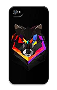 iPhone 4 4s Cases & Covers - Techno Wolf Custom PC Soft Case Cover Protector for iPhone 4 4s