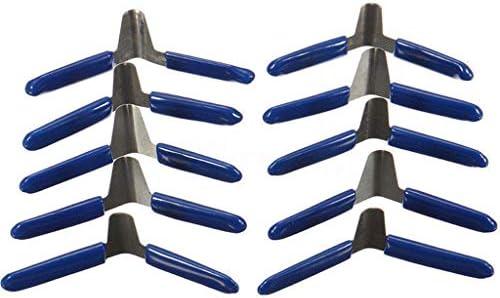 Reparatur-Werkzeug-starkes Vorh/ängeschloss-Installationssatz 10pcs Padlock Shim Set Verschluss-Auswahl-Assistent Bearbeitet Berufsschlosser-Werkzeug