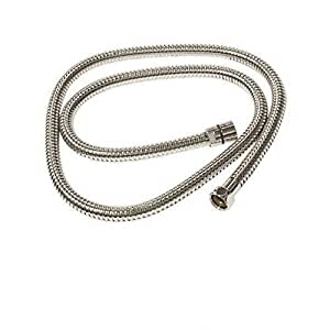 Rohl 16295PN 1/2-Inch Female by 1/2-Inch Female 59-Inch Flex Hose Standard Length Double Spiral in Polished Nickel by Rohl