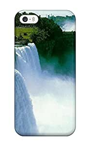 Premium YIXddaj660pvlNS Case With Scratch-resistant/ Amazing Waterfall Case Cover For Iphone 5/5s by icecream design