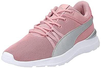 Puma Adela Breathe Ac Ps Pink Shoes For Kids, Size 34 EU
