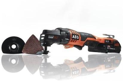 AEG OMNI 18 C multiherramienta eléctrica 20000 RPM Negro, Naranja - Herramienta multiusos (Ión de litio, 545 g, Batería)
