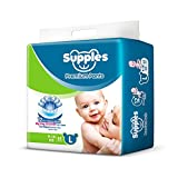 Supples Baby Pants Diapers, Large, 62 Count