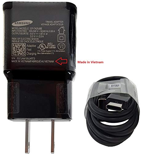 Official Samsung Fast Wall Charger with C Type - Micro USB Cable Retail Packing C OTG Adapter -for G - http://coolthings.us