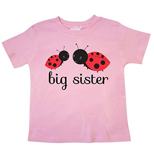 - inktastic - Big Sister Toddler T-Shirt 4T Pink 24c7e