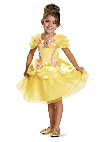 Official Disney Costumes (Belle Toddler Classic Costume, Small (2T))