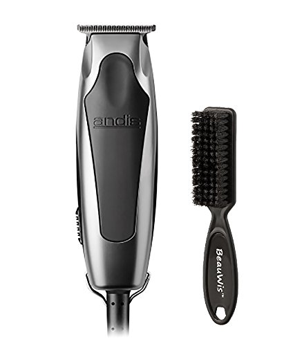 Andis SuperLiner Haircutting Trimmer for dry shaving and fading with a Bonus Replaceable Shaver & BeauWis Blade Brush Included by Andis