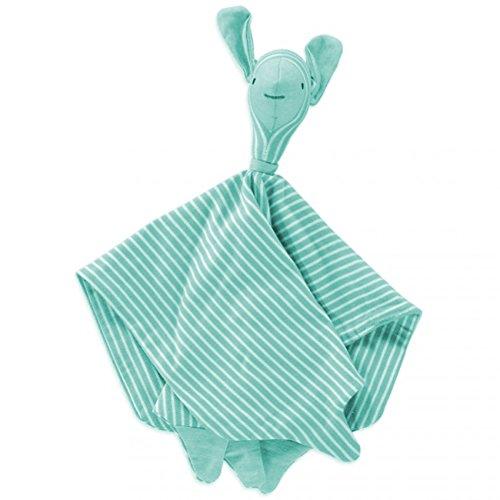- Merino Kids Sheep Cuddly, Organic Cotton and Merino, Aqua Stripe
