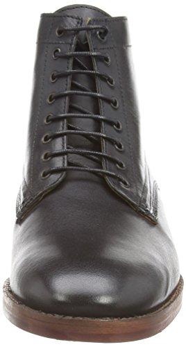 H Shoes Forge - Botas Acolchada Clásico De Pierna Corta para hombre Nero (Nero (nero))