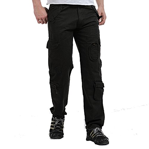 V1 Clothing CO NiuZi Mens Loose Fit Cotton Casual Military Army Cargo Camo Combat Work Pants