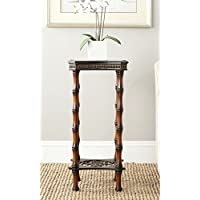 Safavieh American Homes Collection Blanch Dark Brown Side Table