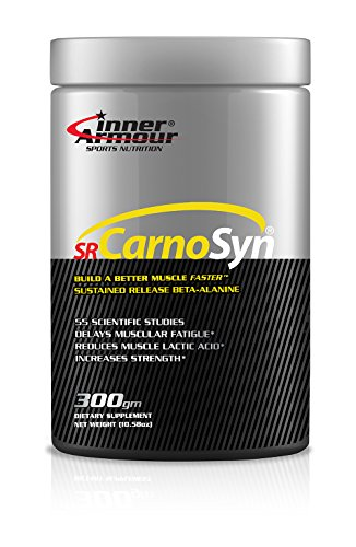 Inner Armour and SR CarnoSyn®, Powder | Sustained Release Beta-Alanine, Proven to Delay Muscle Fatigue | 300 Grams