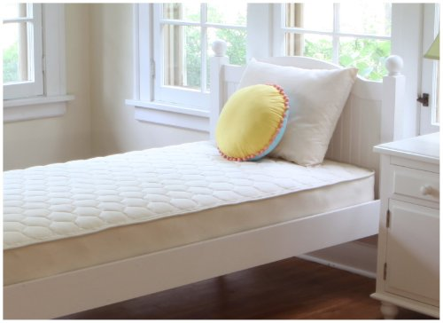 Naturepedic Organic Quilted Deluxe 2-Sided Mattress - Twin