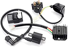 Amazon com: Chanoc Ignition Coil CDI Solenoid Relay Voltage