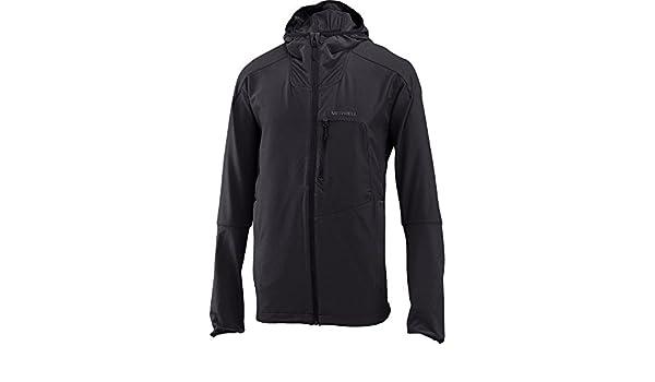 31fa774423 Merrell Stapleton Softshell Jacket Men S Black at Amazon Men's ...
