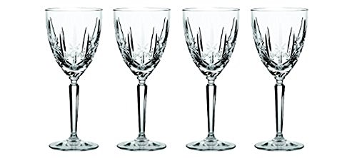 Marquis Sparkle Goblet 10 Ounce Set of 4 For Sale