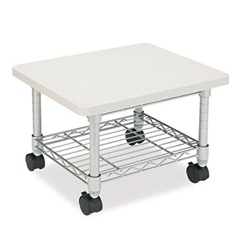 (SAF5206GR - Laminated, Steel - Safco Underdesk Printer/Fax Stand - Each)