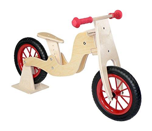 Hess Holzspielzeug 31182 - Laufrad Bike natur, höhenverstellbarer Sitz