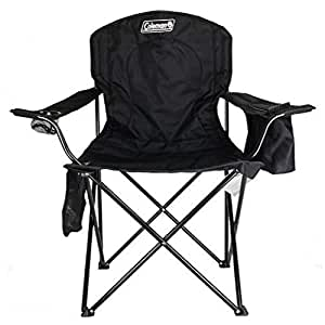 Swell Amazon Com Coleman Camping Chair With 4 Can Cooler Chair Creativecarmelina Interior Chair Design Creativecarmelinacom