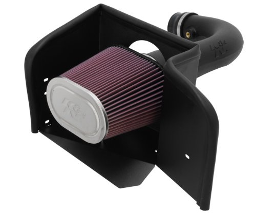 K&N Performance Cold Air Intake Kit 57-1529 with Lifetime Filter for 2002-2012 Dodge Ram 1500 4.7L V8
