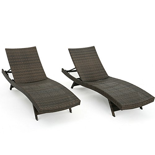 Reclining Daybed Double Set Of Two Lounge Chairs Poolside Wicker Adjustable Patio Chaise Garden Hotel Backyard Ergonomic Outdoor Weather Sun Lounging UV Resistant Stackable Durable & eBook By NAKSHOP