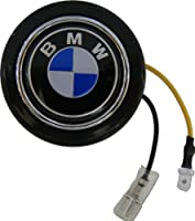 Bmw Steering Wheel Horn Button In Black Blue And White Logo For 1 3 5 6 7 M X Z Series by Empire Racing Parts