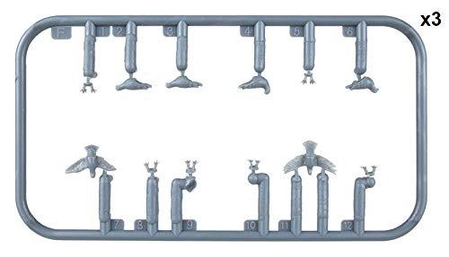 MINIART 38036 1/35 Pigeons Plastic Accessory 12 Figures of Birds 4