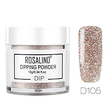Amazon com: Dip Powder Nail Glitter Set French Nail Polish