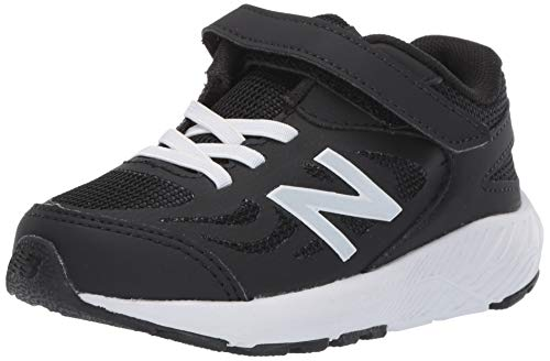 New Balance Boys' 519v1 Running Shoe, BLACK, 6 W US Toddler