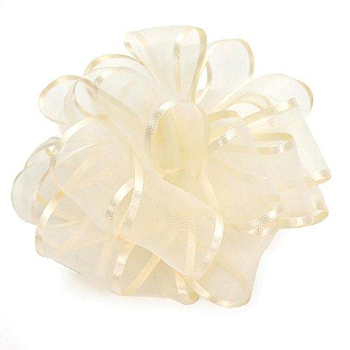 Satin Wired Edge Organza Ribbon - 1 1/2