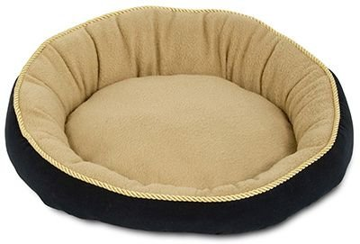 Cheap Aspen Pet 18″ Round Bed With Eliptical Bolster Assorted Colors