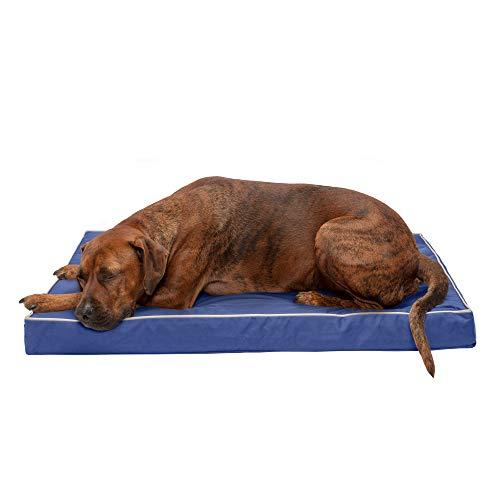 Furhaven Pet Dog Bed | Deluxe Orthopedic Mat...