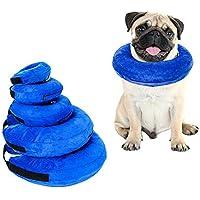 YVX Collar Inflable para Mascotas, para Gatos y Perros en recuperación Posterior a la cirugía, Evita Que Las Mascotas…