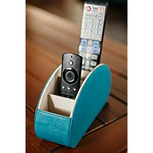 Homeze Remote Control Holder and Caddy Organizer Stand for TV Remote and Table Top