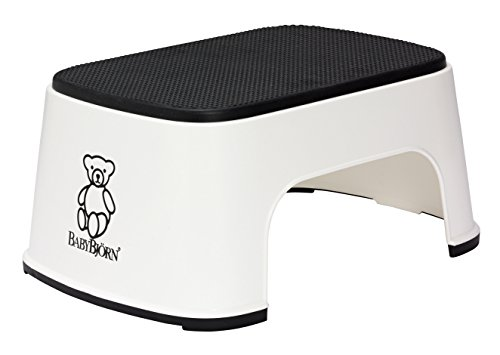 BABYBJORN Step Stool – White