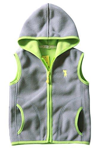 Fleece Embroidered Vest - 2
