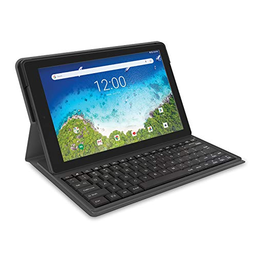 2019 RCA Viking Pro 2-in-1 Tablet 10'' Touch Screen and Detachable Keyboard, Quad Core, 32GB Android 6.0 Lollipop