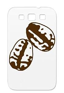 Brown Beans Sibosssr Coffee Machine Coffee Miscellaneous Art Design Coffee Beans Durable TPU Case For Sumsang Galaxy S3