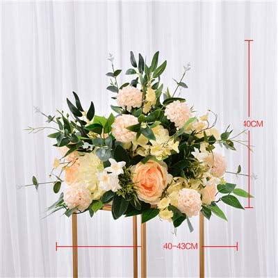 CoronationSun – Rosa Artificial – 40 cm Rosas Artificiales ...