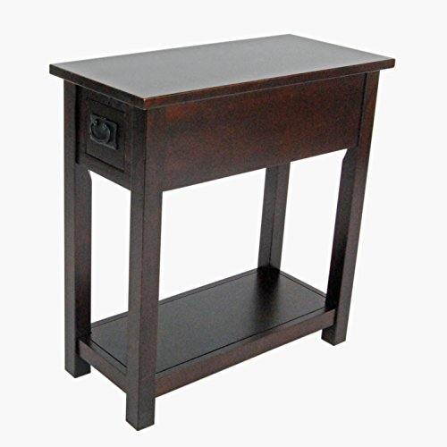 Alaterre Artisan Chair Side Table, (Cherry Mission End Table)