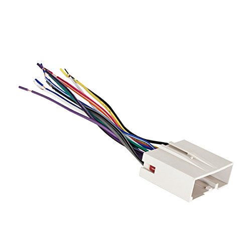Metra Electronics 70-5520 Wiring Harness for Select 2003-Up Ford Vehicles